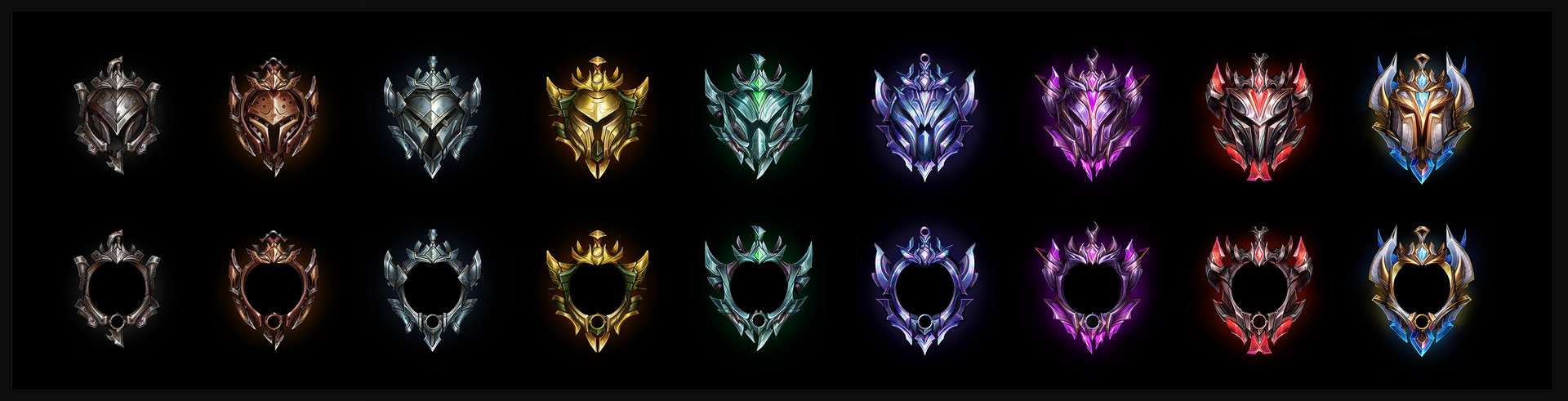 Ranked emblem concepts