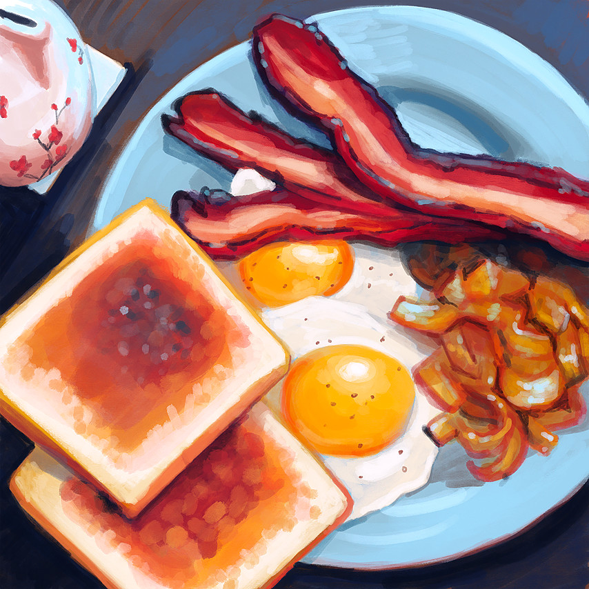 Maddy kenyon breakfast study