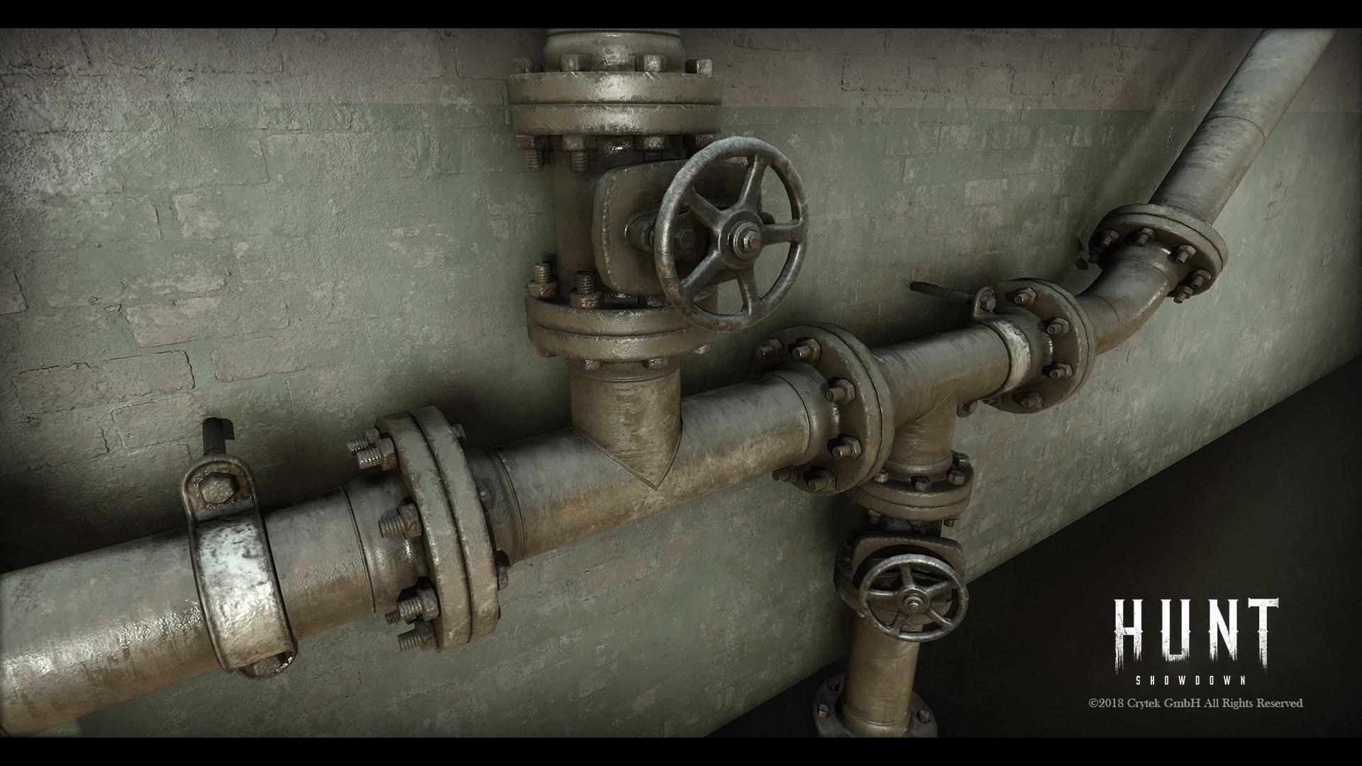 Modular Pipeset Closeup