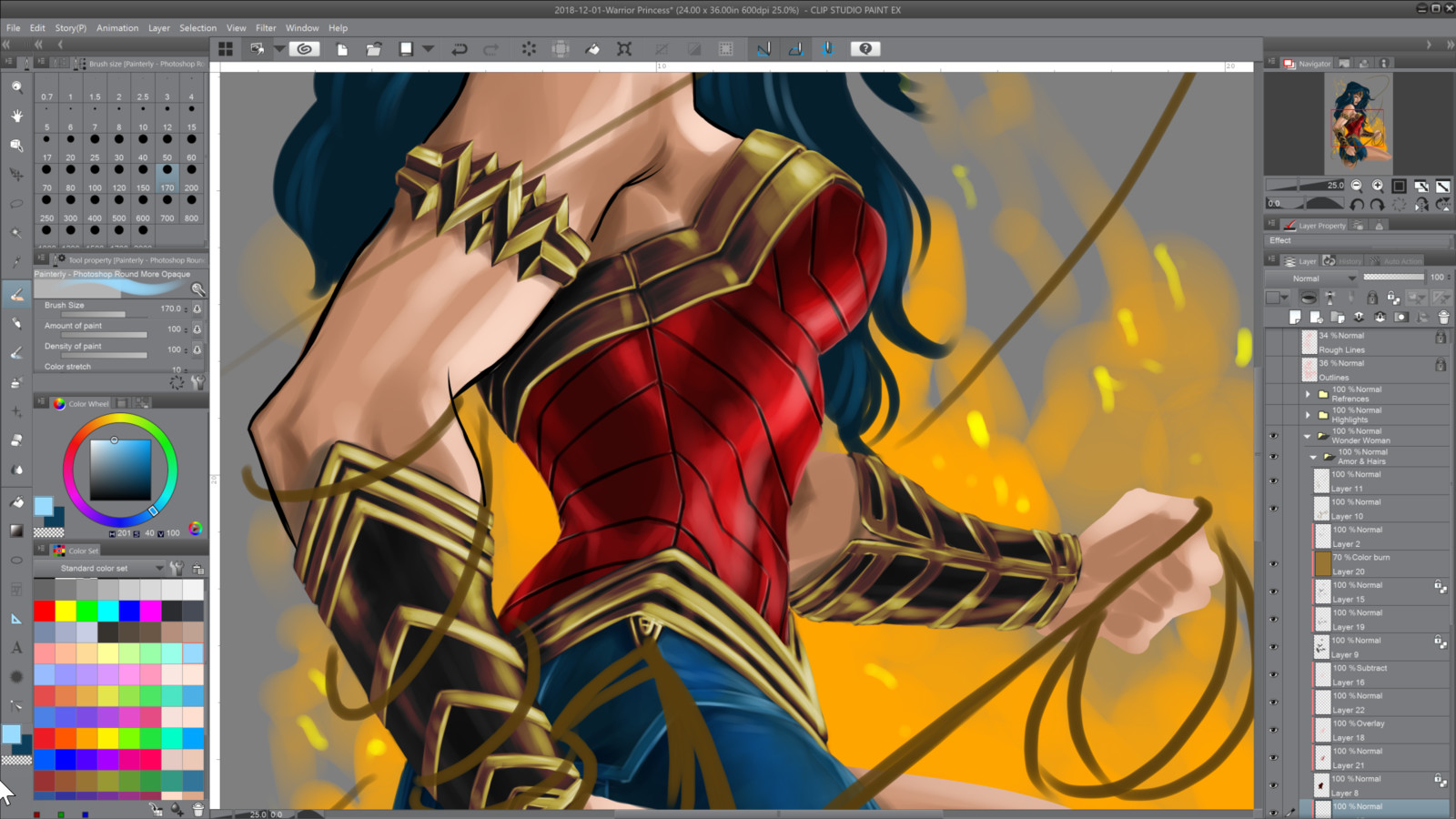 09- Painting armors and reflections