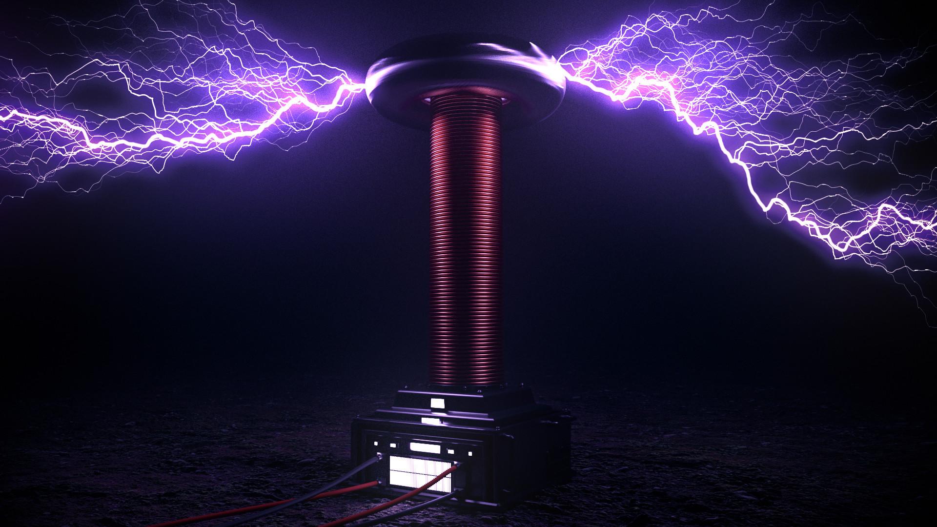 Artstation Tesla Coil Renato Rossarola
