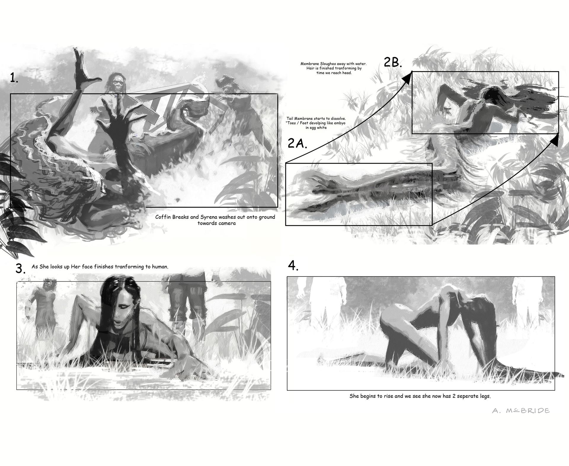 Aaron mcbride mermaid transform storyboards