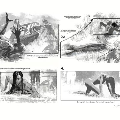 Aaron mcbride mermaid transform storyboards