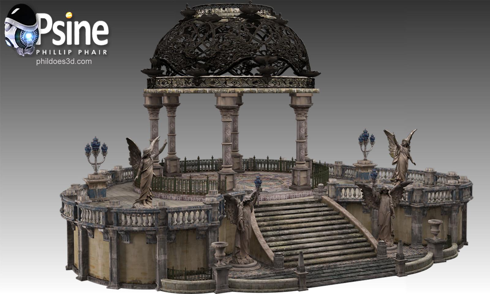 Baroque Terrace Model