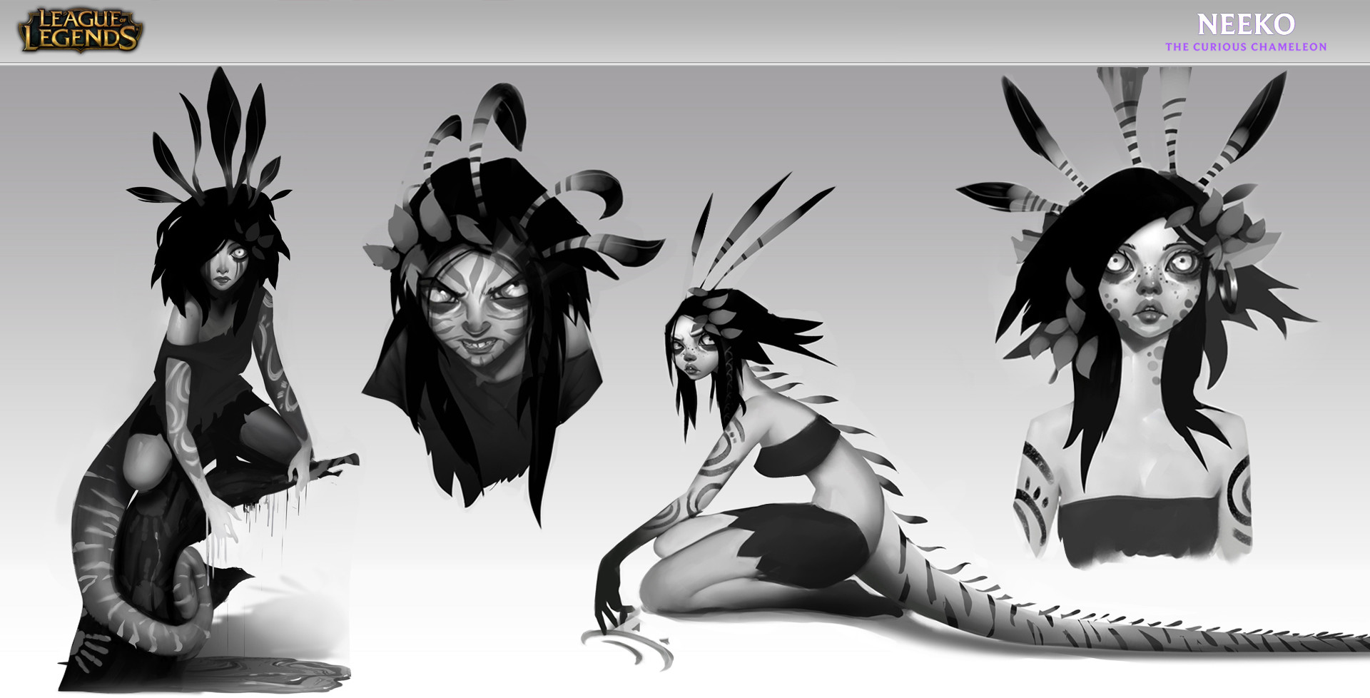 Early Concepts to find who is Neeko