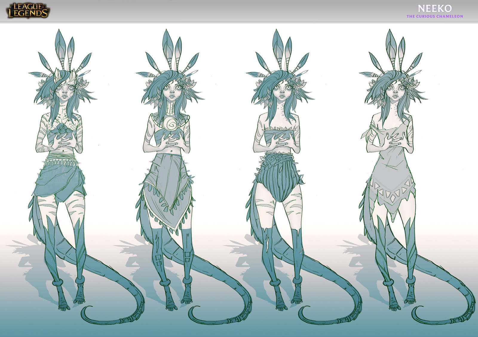 Some variations on the outfits and the creature balance.