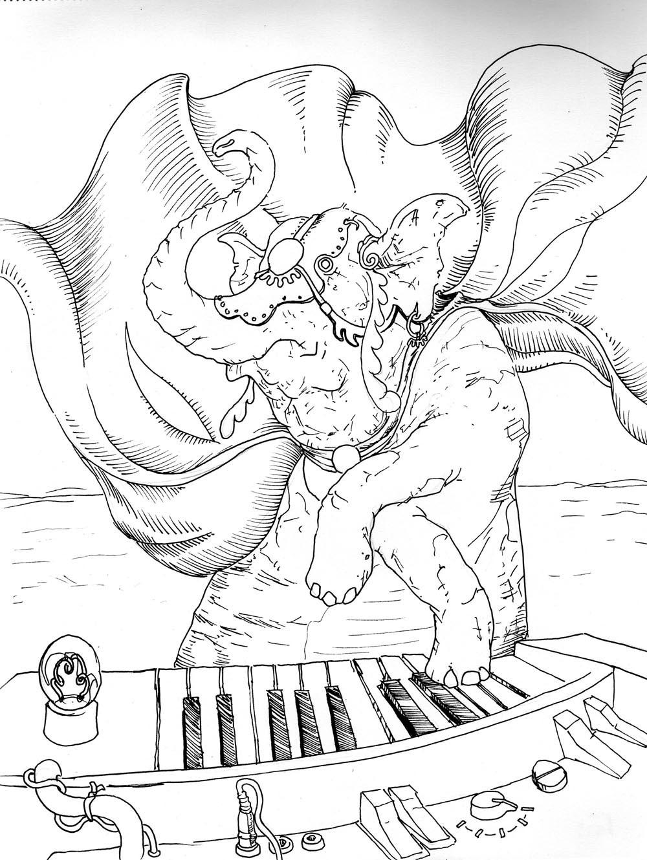 Elephant Organist