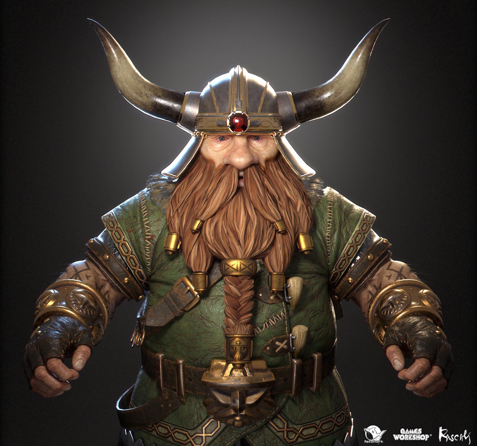 Bardin Goreksson: Ranger Veteran is one of the playable hero variants Rascals made for Warhammer: Vermintide II, Fatshark's award-winning co-op meelee action published by Games Workshop.