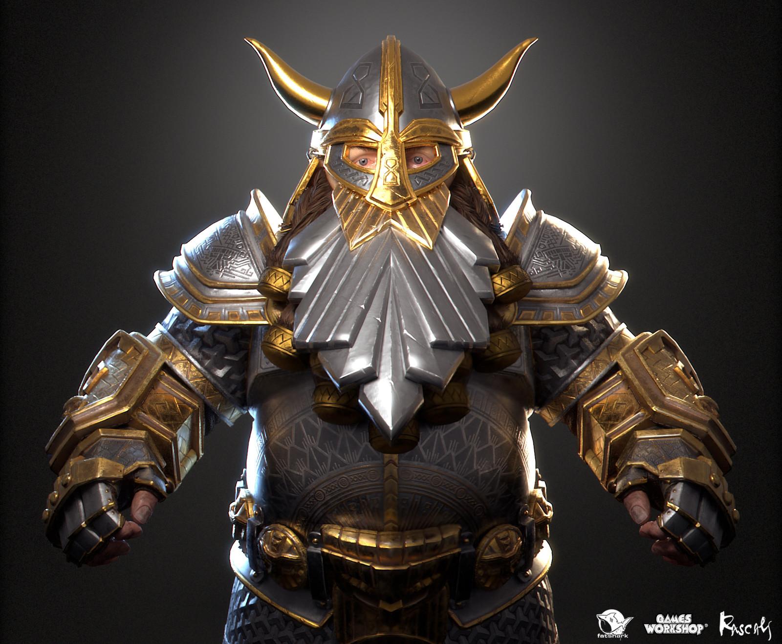 Bardin Goreksson: Ironbreaker is one of the playable hero variants Rascals made for Warhammer: Vermintide II, Fatshark's award-winning co-op meelee action published by Games Workshop.