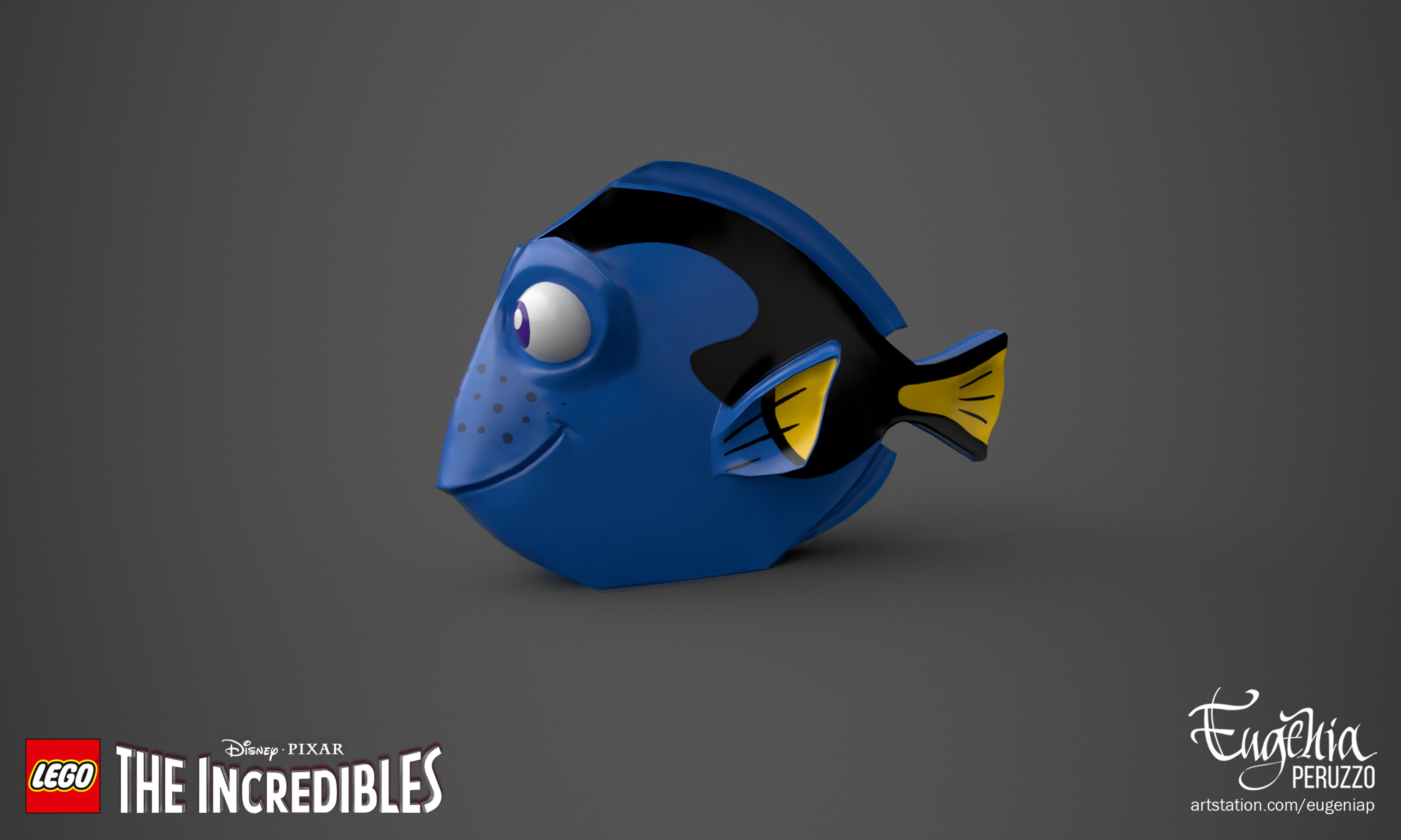 ArtStation - Dory - LEGO® The Incredibles, Eugenia Peruzzo