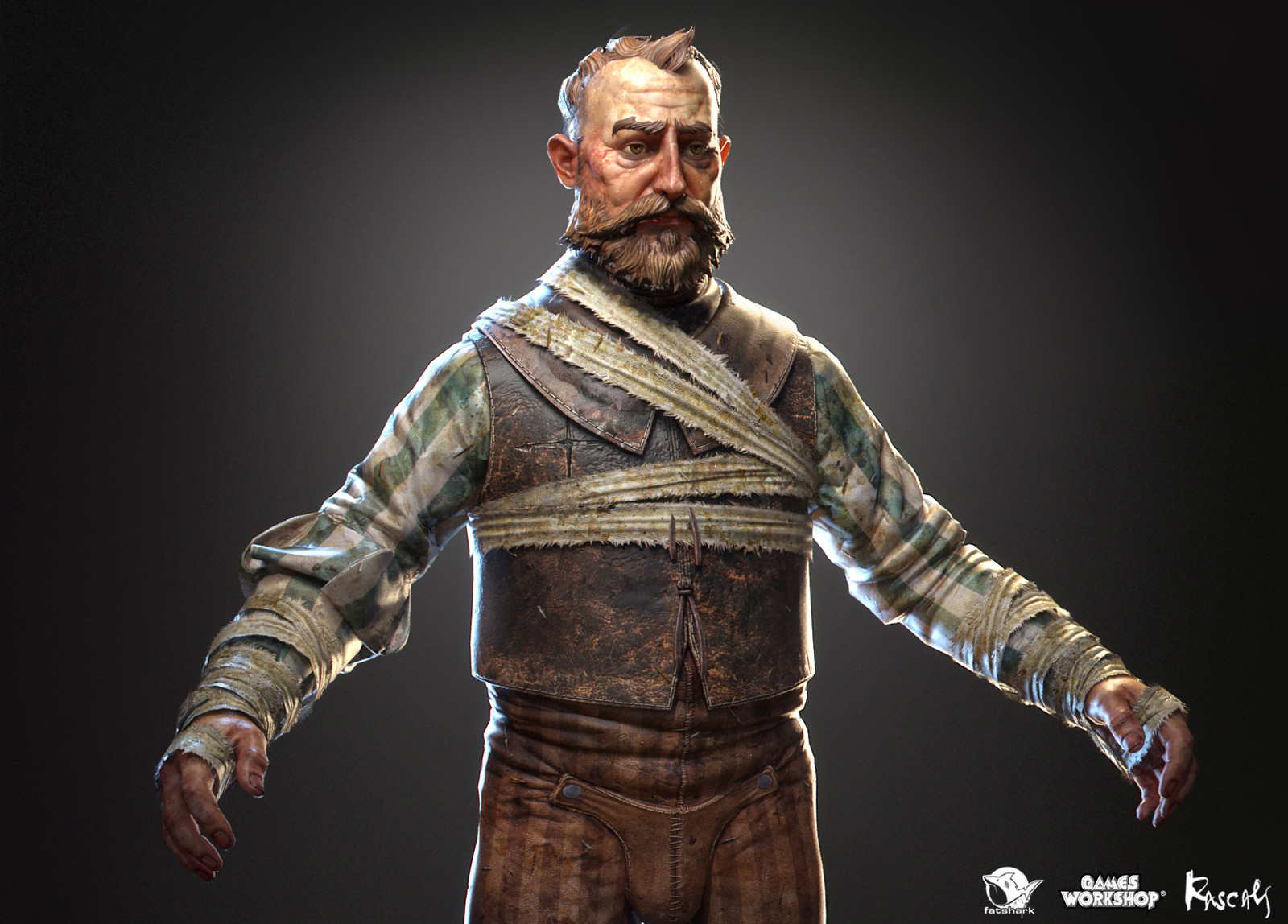 As if the hardships of imprisonment by Chaos were not enough, this feller never got his name throughout making of Warhammer Vermintide II.