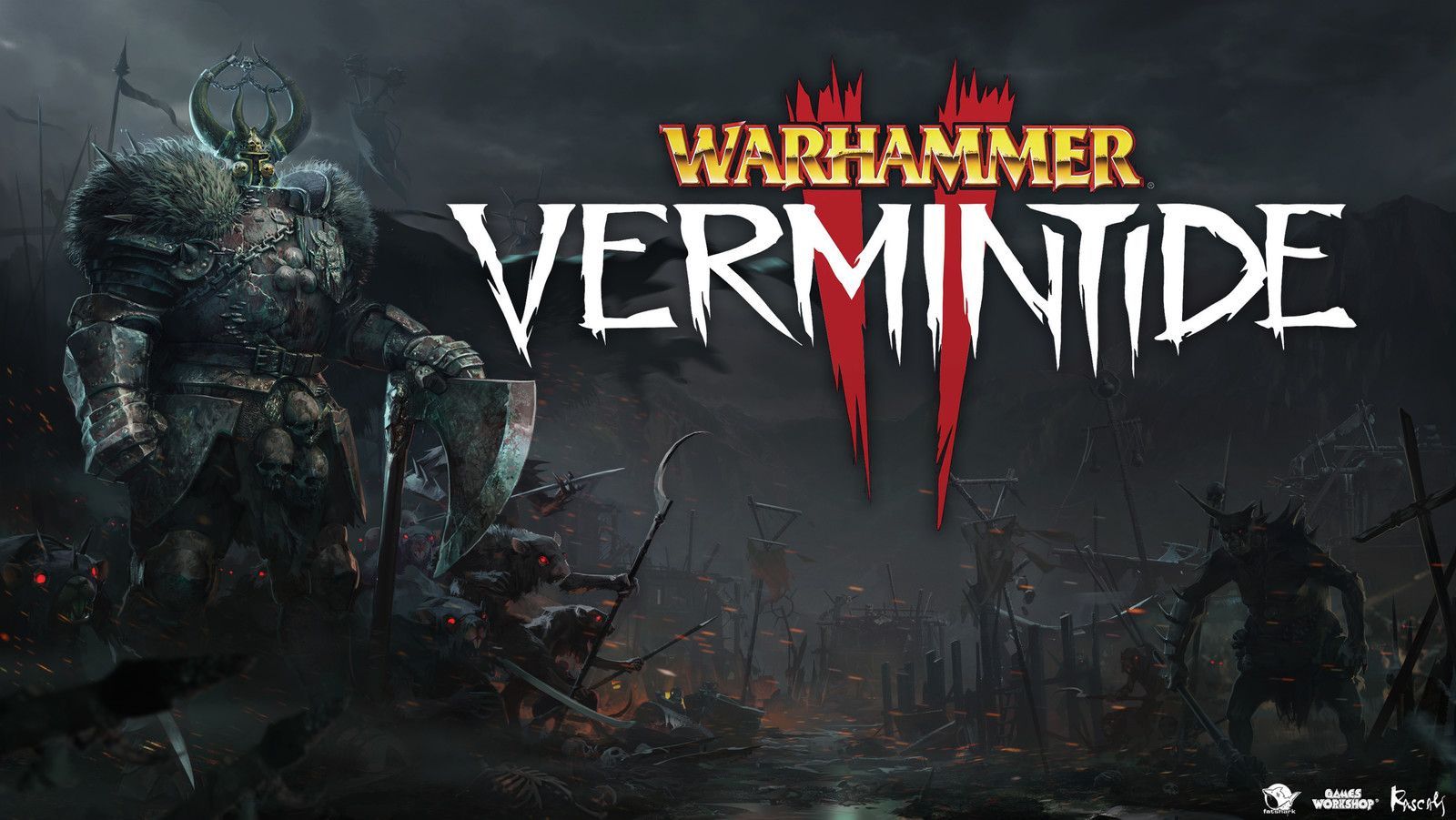 The 'Enemy' Artwork for Warhammer: Vermintide II  was widely featured in game's marketing campaign and trailers.