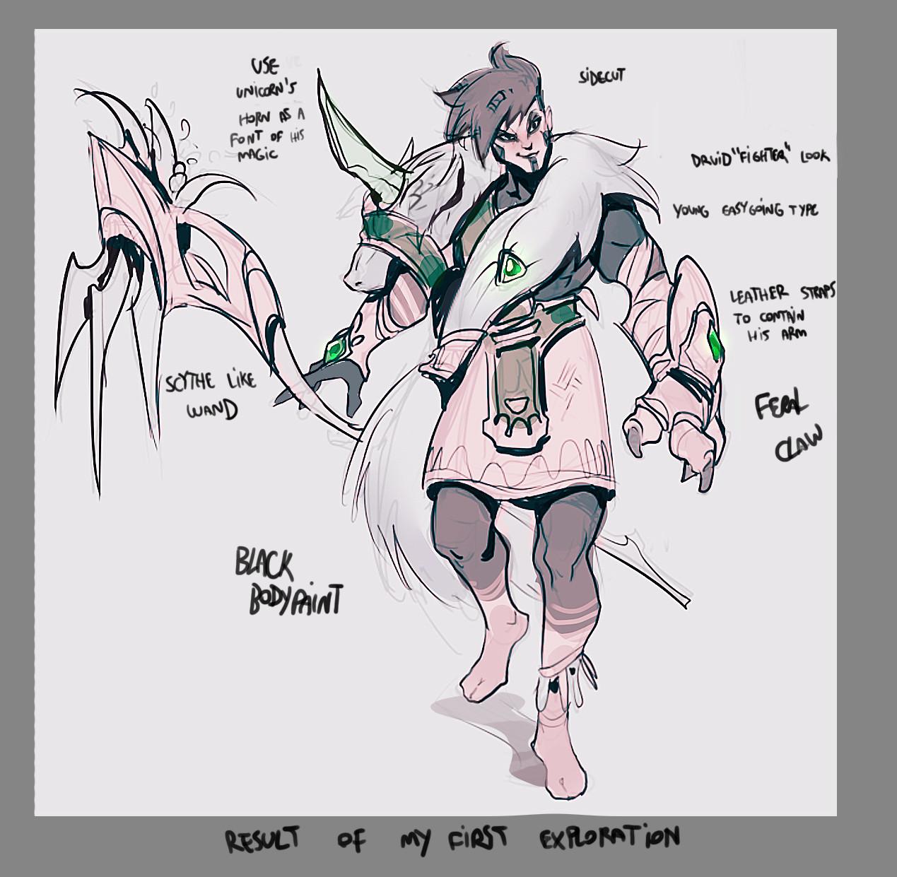 Yan kyohara druid fighter exploration 3
