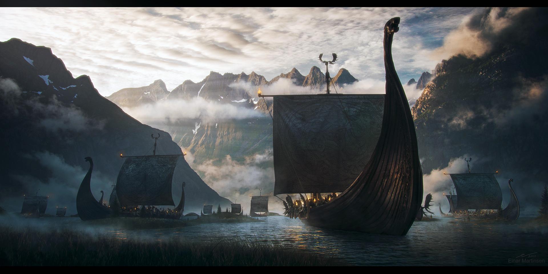 Einar martinsen viking boatarrival em 02