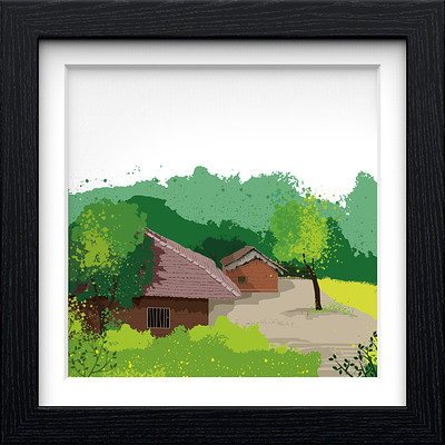 Rajesh r sawant black square frame konkan 14