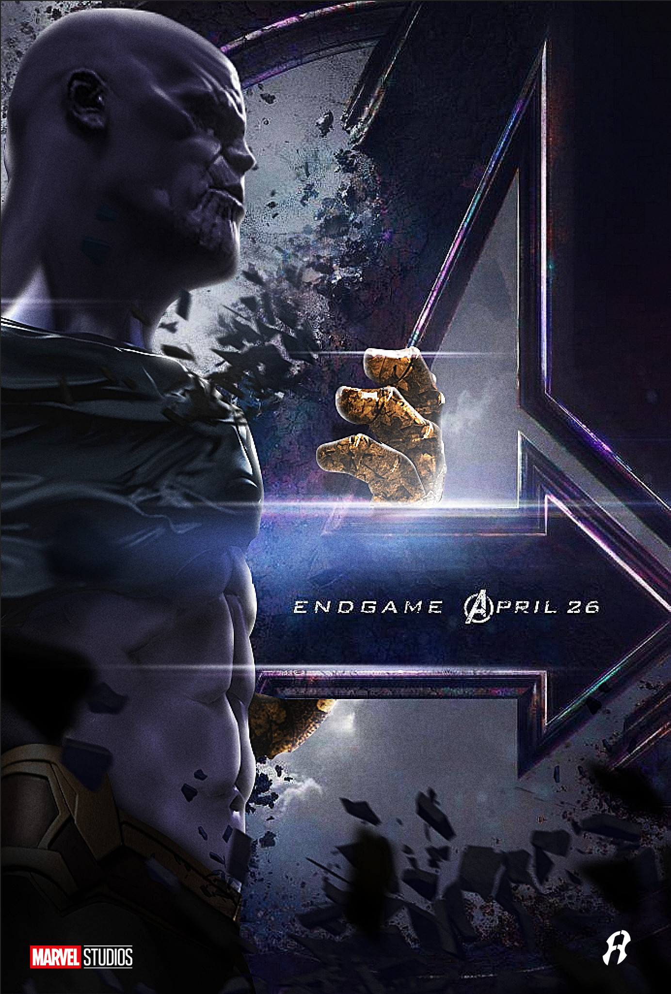 """Avengers End Game Poster 13x20/"""" 27x40/"""" 32x48/"""" Dead Characters Marvel Movie Print"""