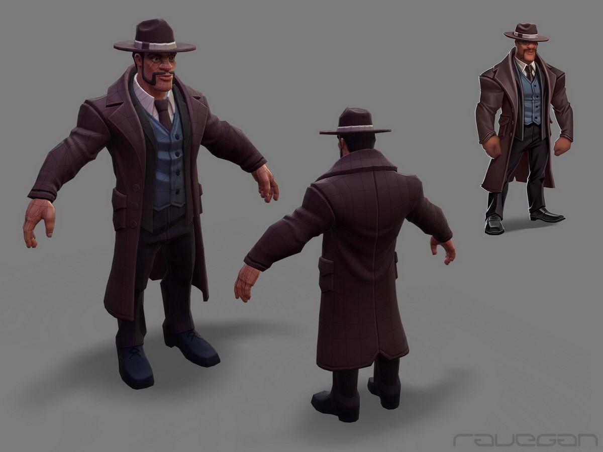 Ravegan games how mafia lowpoly small