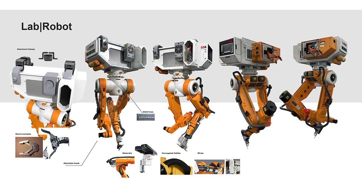 Robert simon lab robota