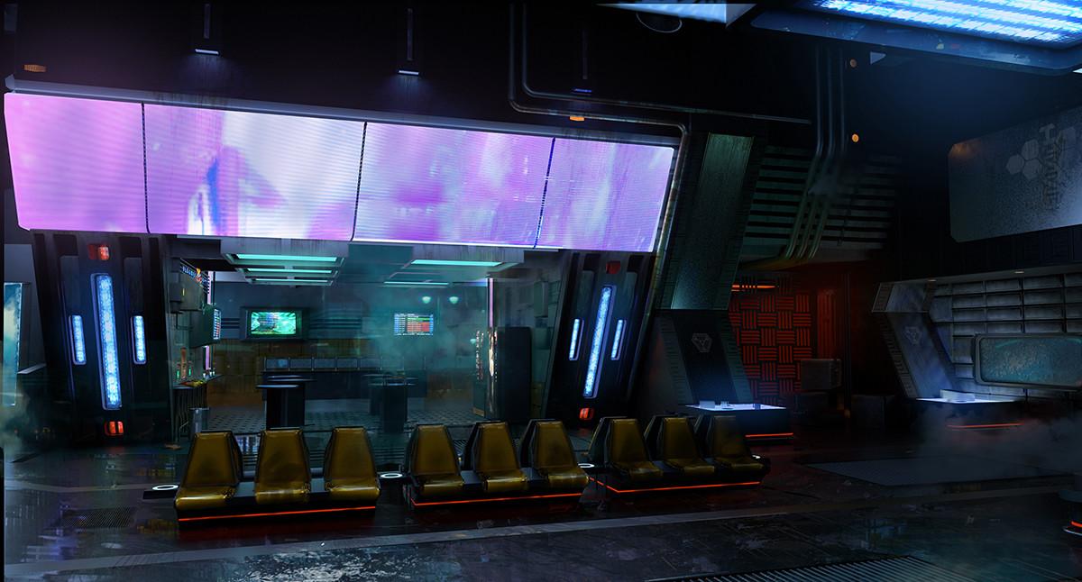 Robert simon saturn atrium bar entrance