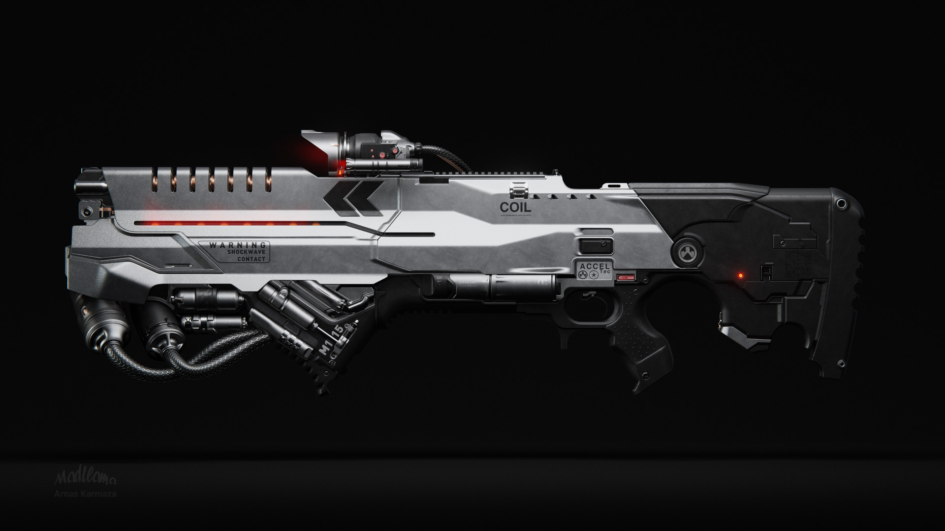 Mad Llama - Coil Railgun