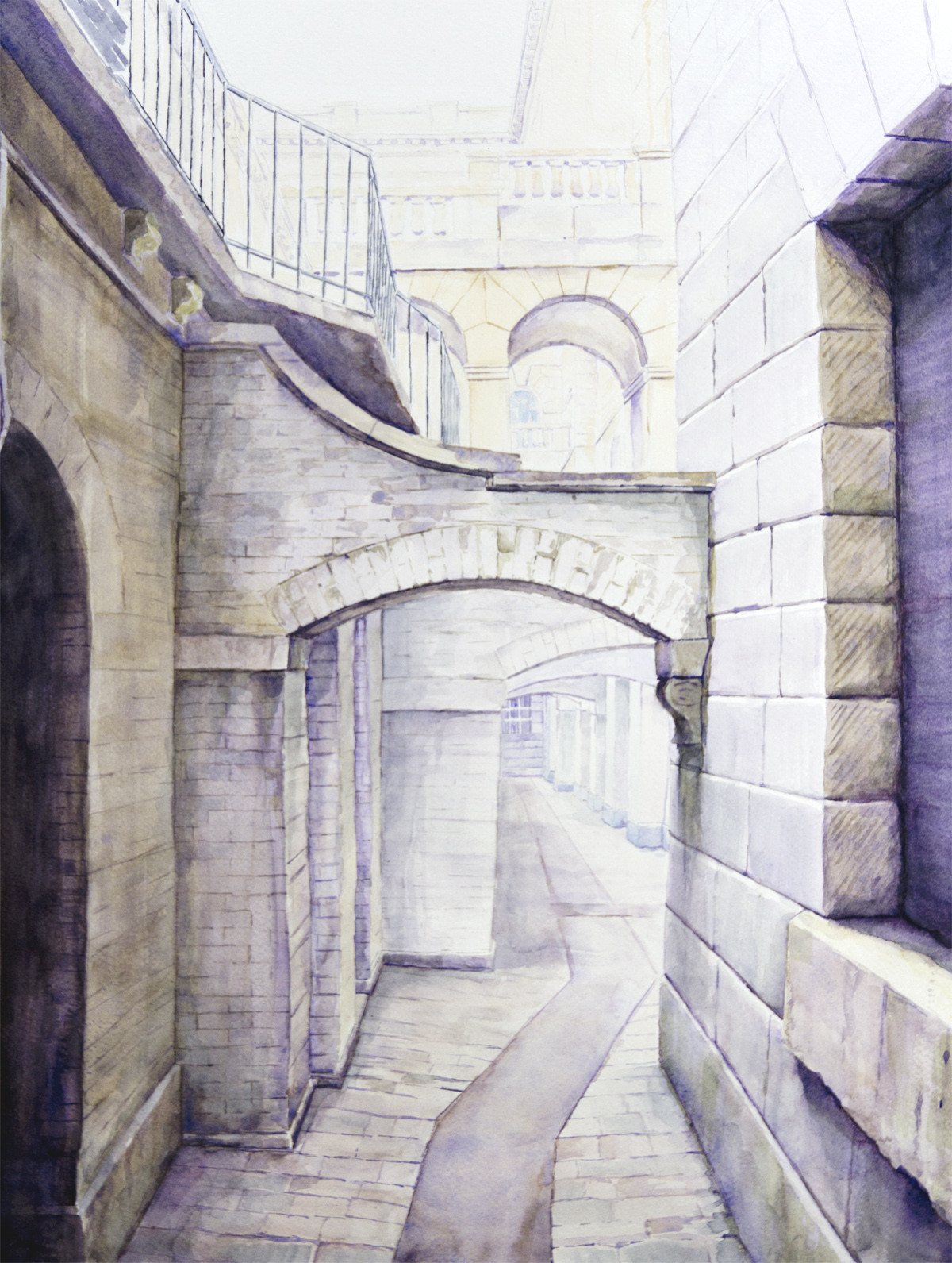 Michal puto the old alley