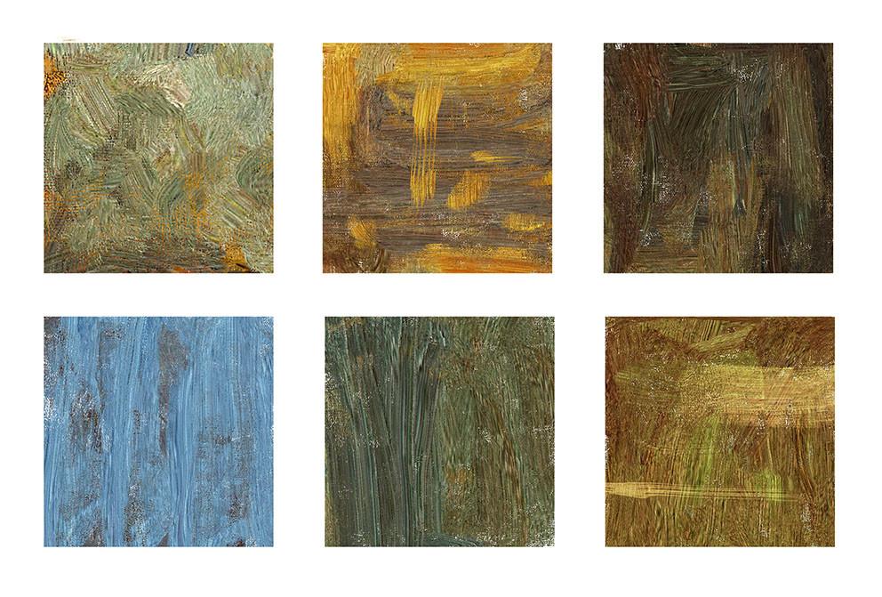 Emrullah cita oil painting