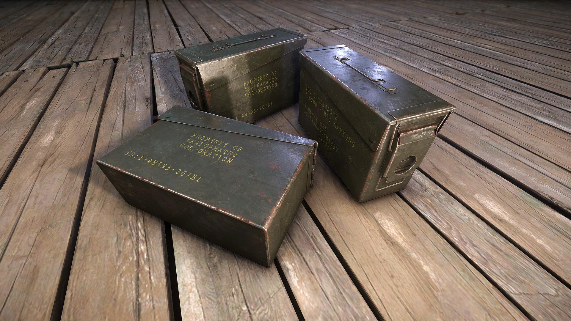Carl kent ammo box v2
