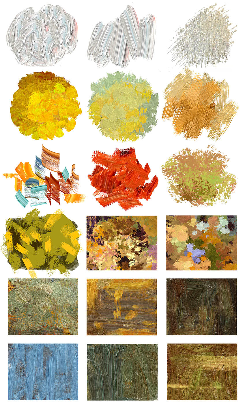 Emrullah cita digital oil painting