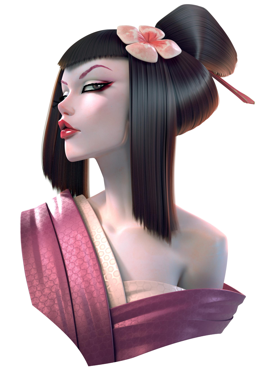 Olivier couston geisha