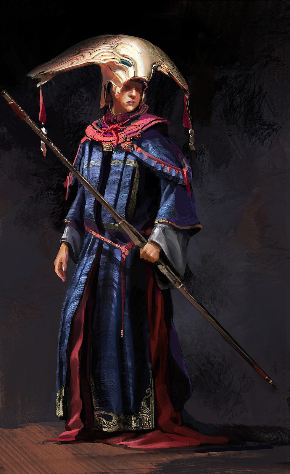 A fantasy character