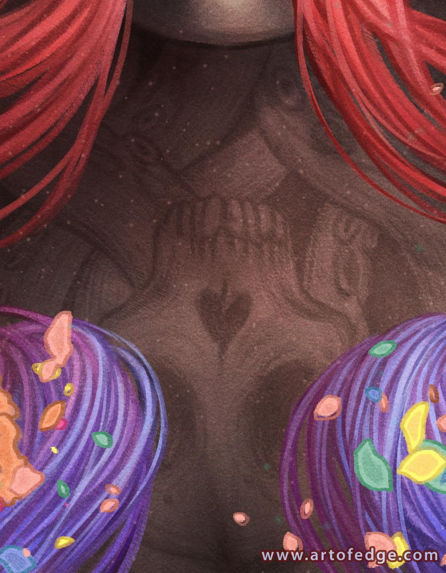 Ejiwa ebenebe ejiwaebenebe starburst web closeup02