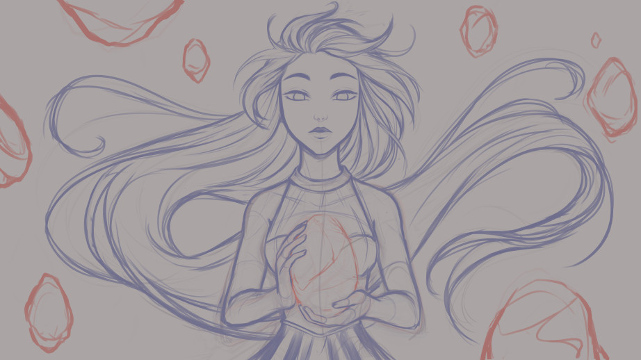 Kala sketch fallingstar