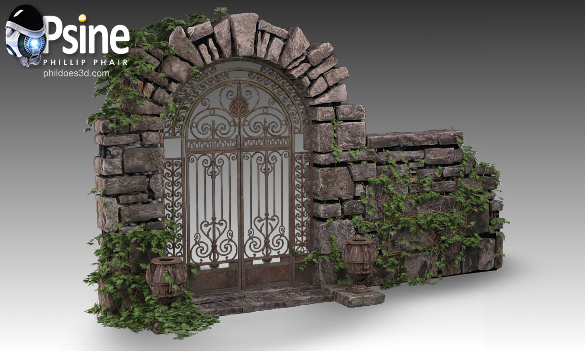 Decorative Gate Model