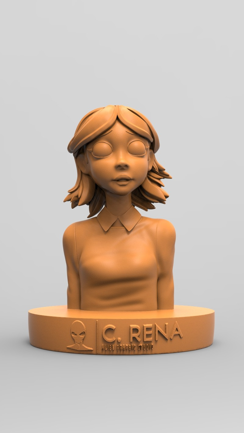 3D Print Keyshot Render (example for client)