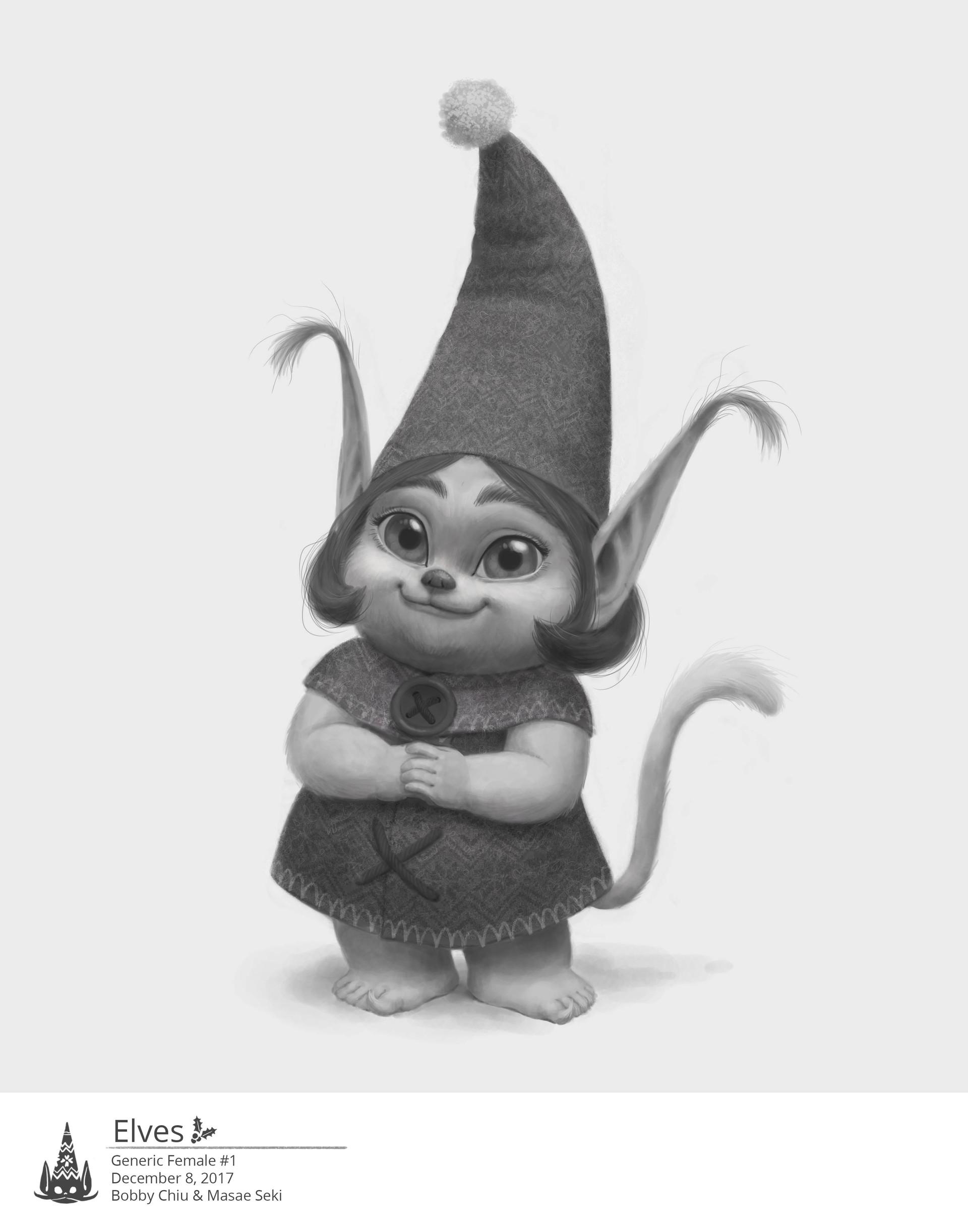 The Christmas Chronicles Elves.Artstation Netflix S The Christmas Chronicles Female Elf