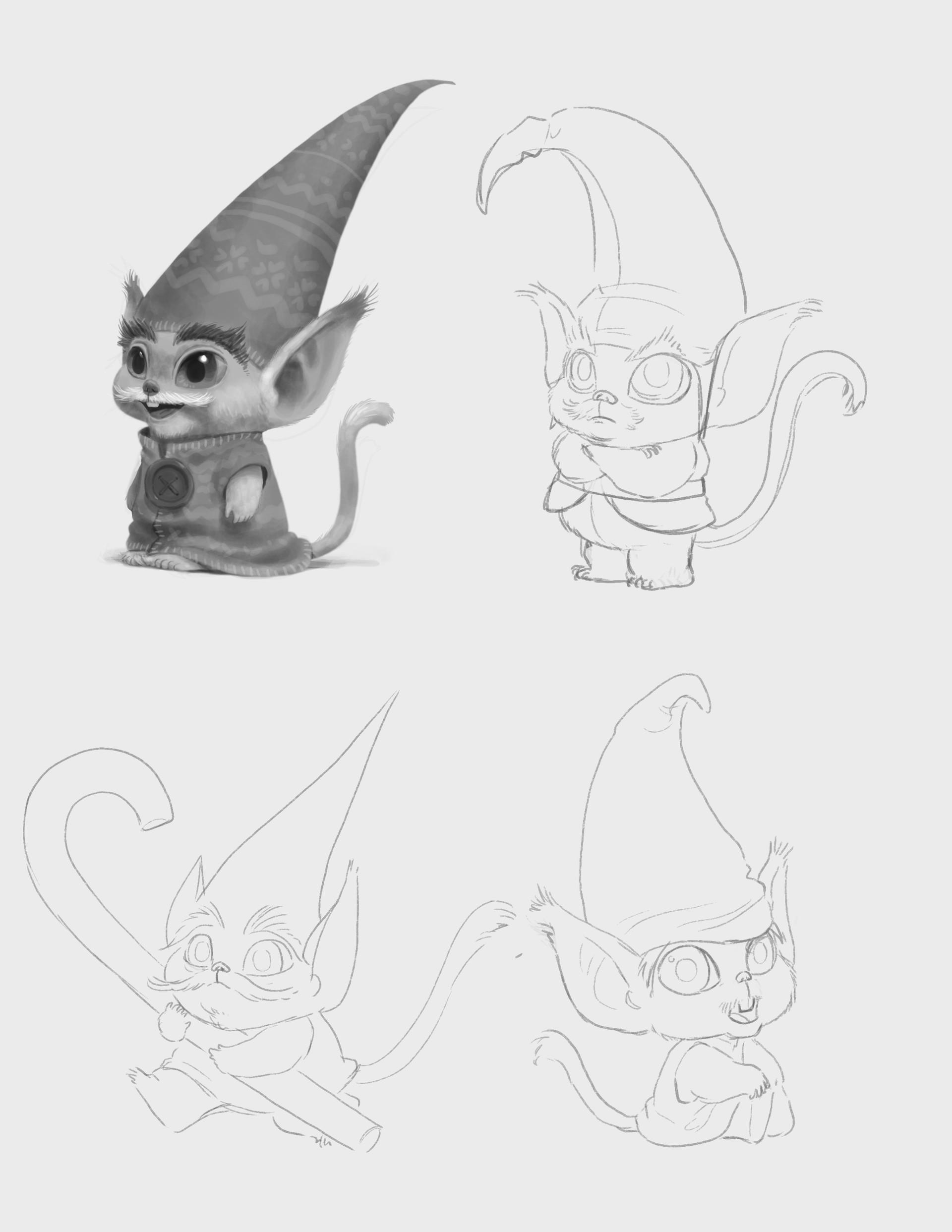 The Christmas Chronicles Elves.Artstation Elf Design Exploration Masae Seki