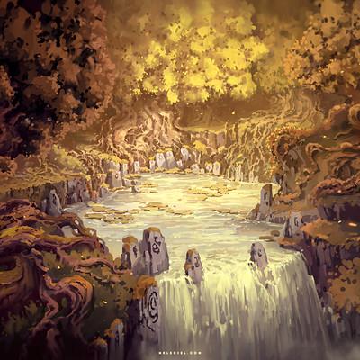 Nele diel well of the golden tree