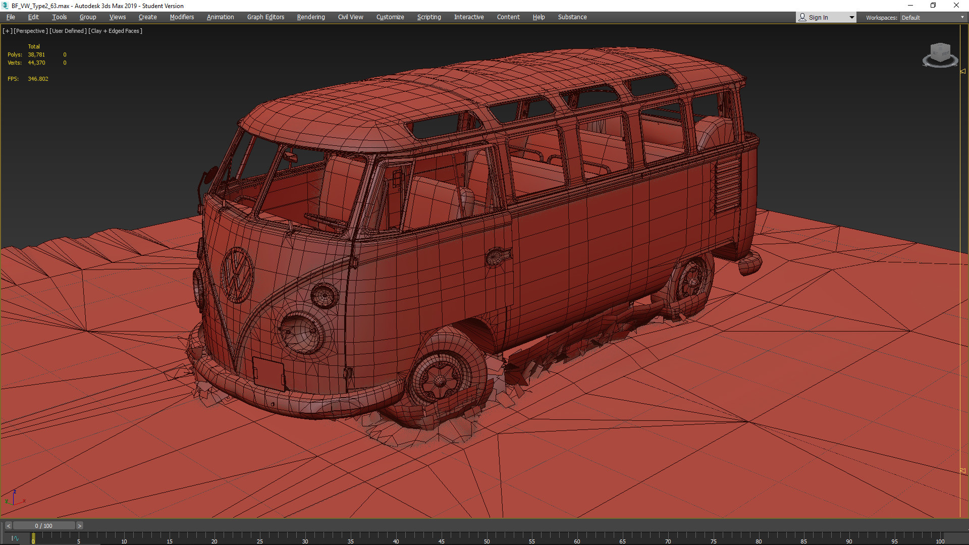 David Blakeborough - Forza Horizon 2 'Volkswagen Camper' Barn Find