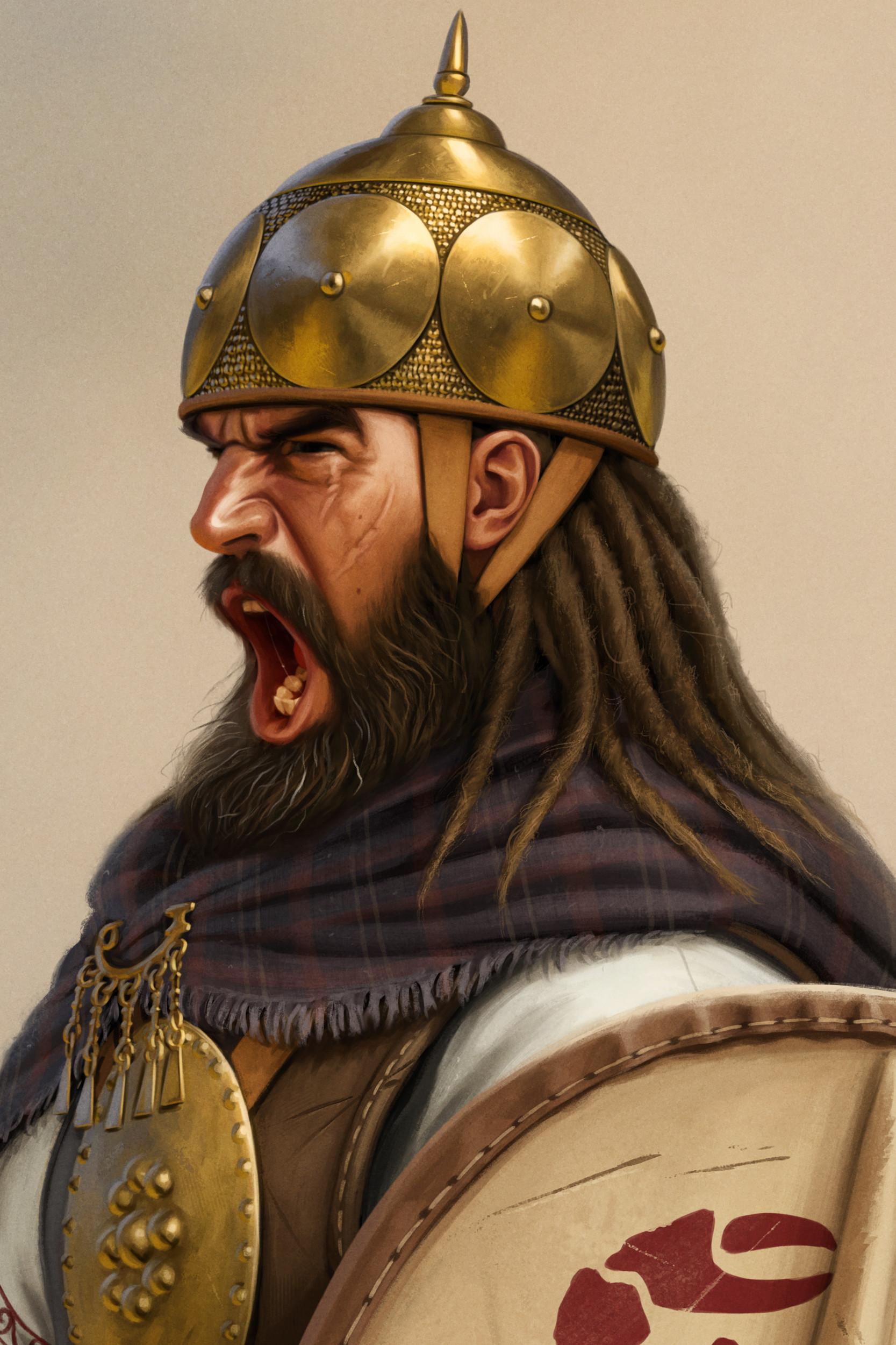 ArtStation - Illyrian warrior, Joan Francesc Oliveras