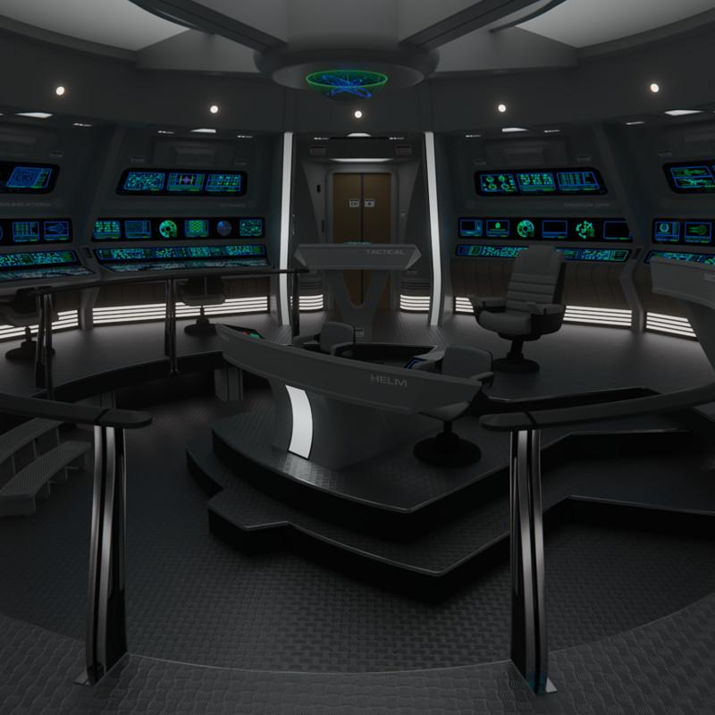 USS Constellation Bridge