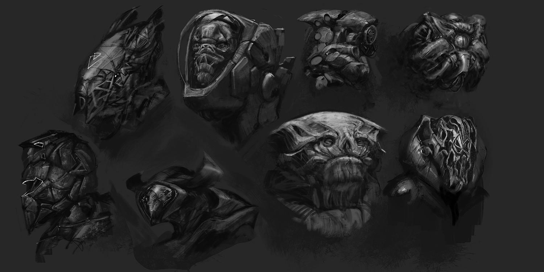 Alien sketches