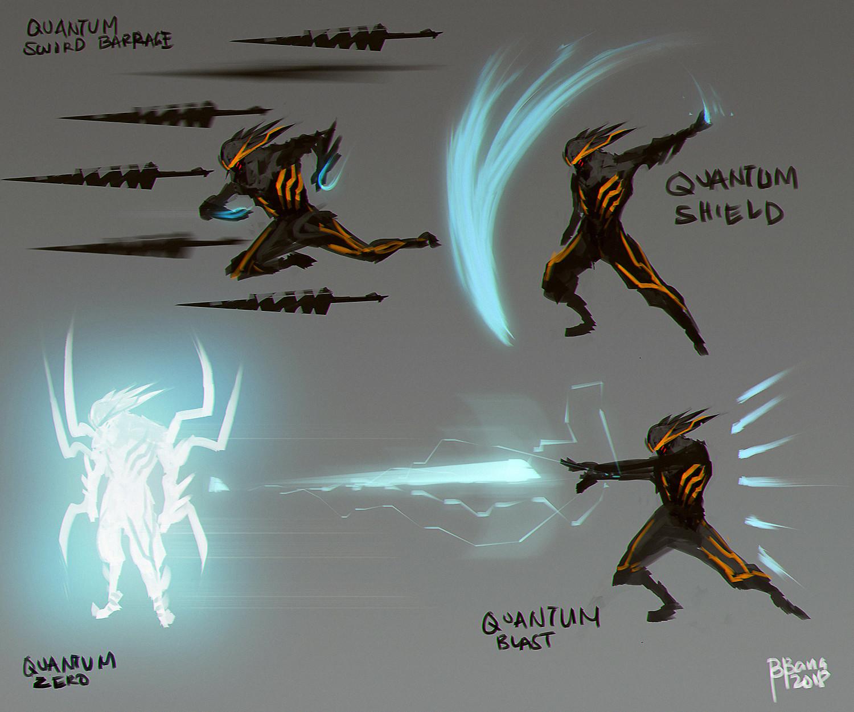 Benedick bana quantum break attacks lores