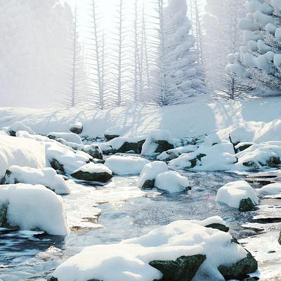 Christoph schindelar rdt snow river testscene 06