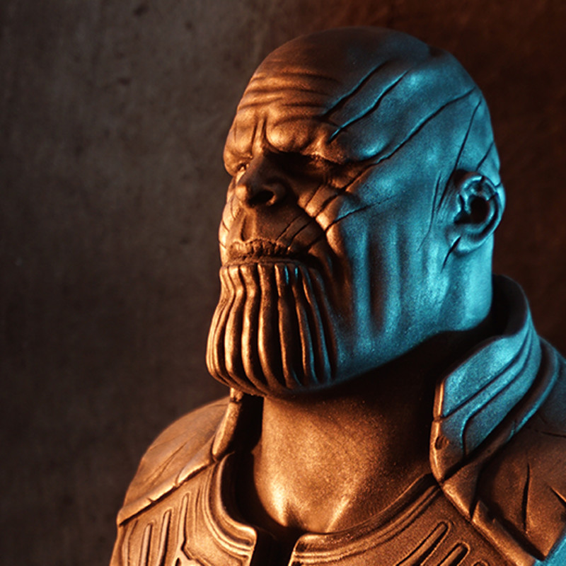 Thanos (Infinity War) bust (3D printed fan art)