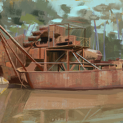 Miguel sastre ship study