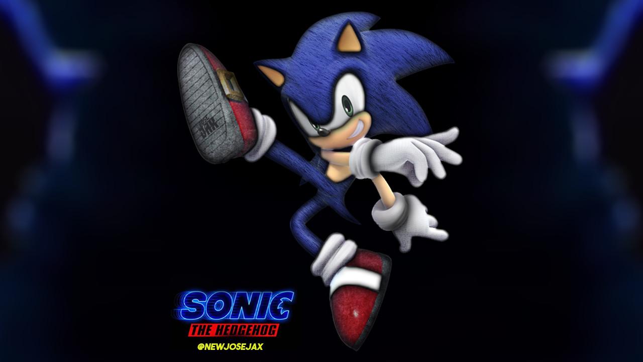 Artstation Sonic The Hedgehog Movie My Concept Art Of Sonic