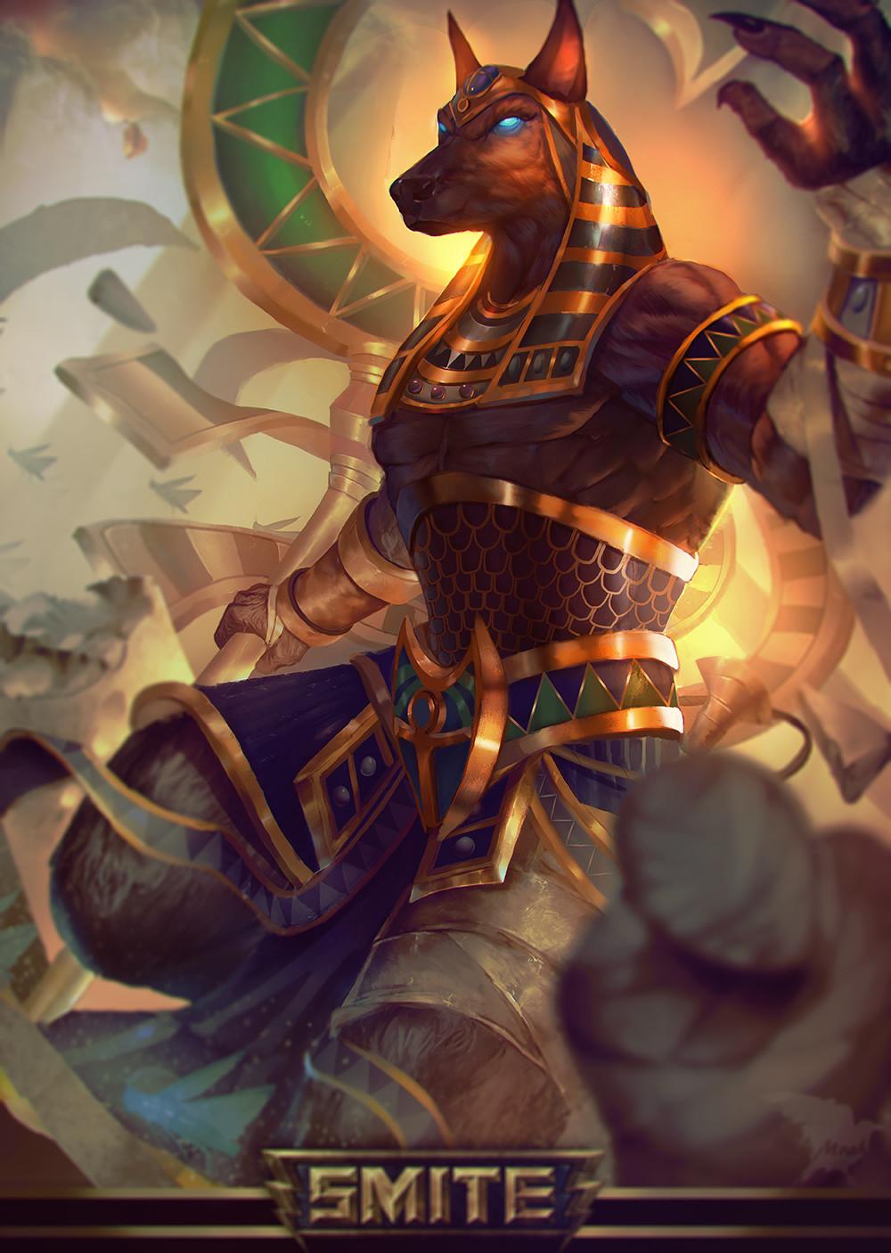 Anubis Fanart