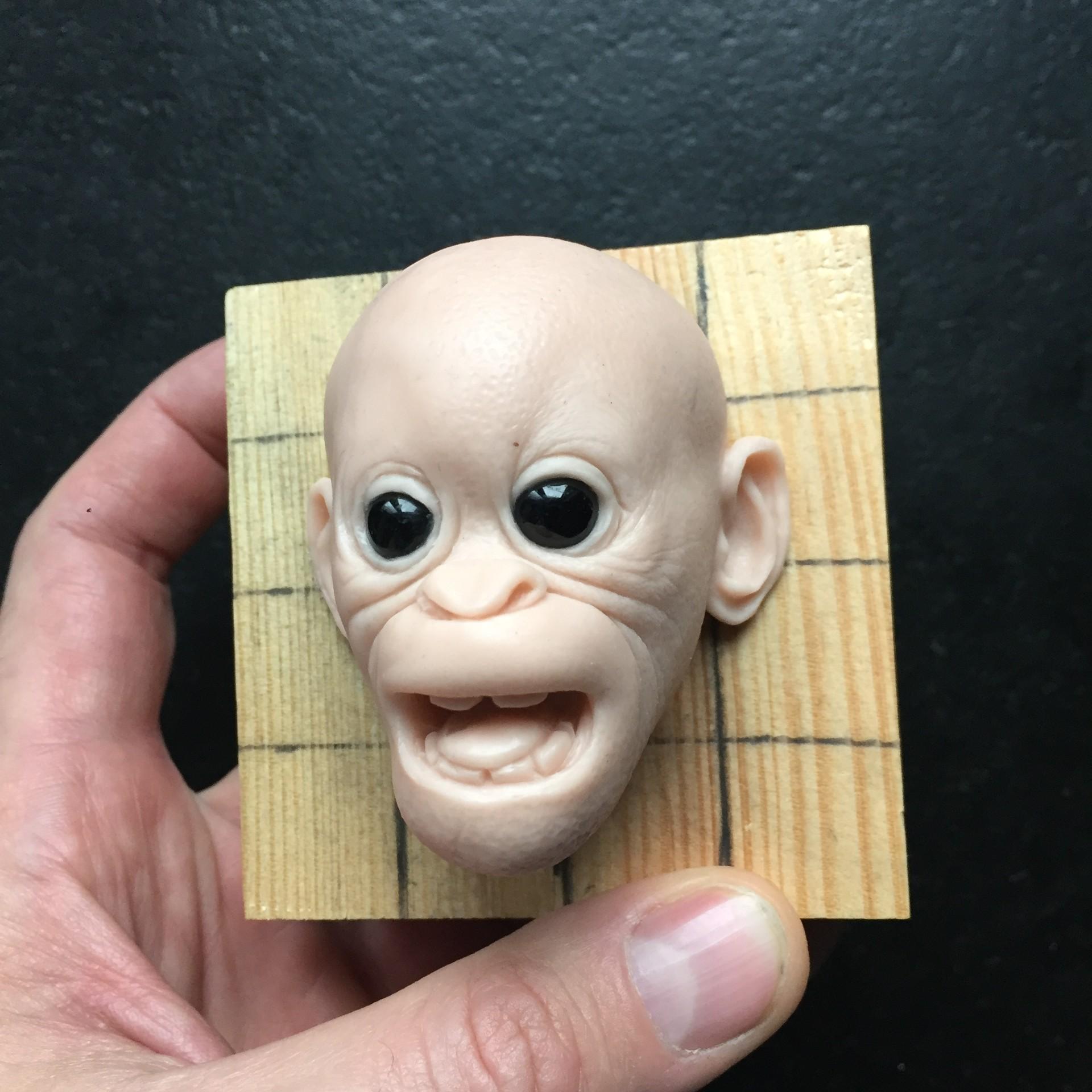 Orangutam baby/supers sculpy