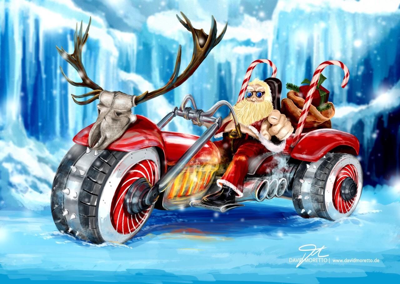 Bad Ass Santa Claus