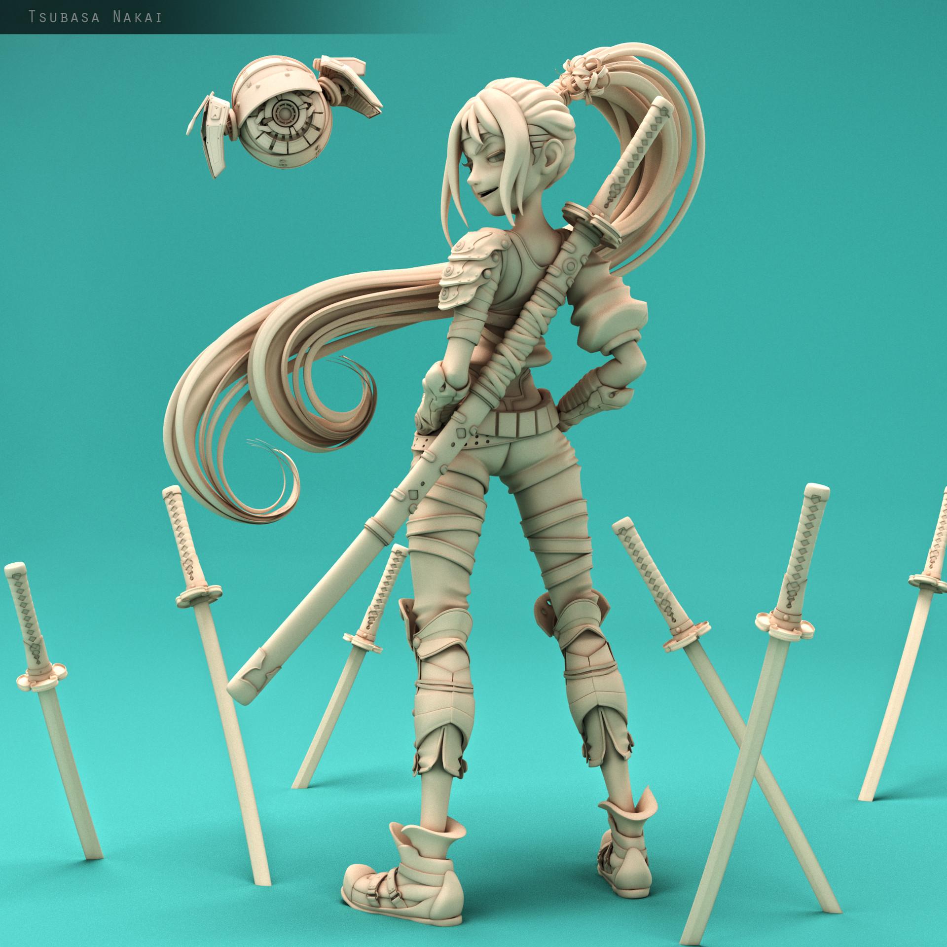 Tsubasa nakai model3